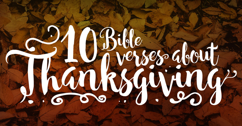 Thanksgiving-Verses